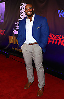 Sergio Oliva Jr. at the BIGGER World Premiere, Orleans Arena, Las Vegas, Nevada, USA, September 13th, 2018.<br /> CAP/ADM/MJT<br /> &copy; MJT/ADM/Capital Pictures