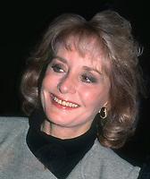 Barbara Walters 1988<br /> Photo By John Barrett/PHOTOlink