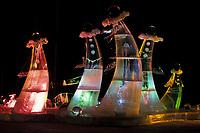 Ice Sculpture at the World Ice Sculpting Championships in Fairbanks, Alaska