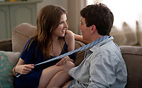 Get a Job (2016)<br /> Anna Kendrick &amp; Miles Teller<br /> *Filmstill - Editorial Use Only*<br /> CAP/MFS<br /> Image supplied by Capital Pictures