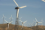 The Tehachapi Wind Farm, boasts around 5,000 wind turbines and collectively produces about 800 million kilowatt-hours of electricity. .Location: Five miles W of Mojave.in Kern County .Public roads pass through the wind farm, as does the Pacific Crest Hiking Trail.