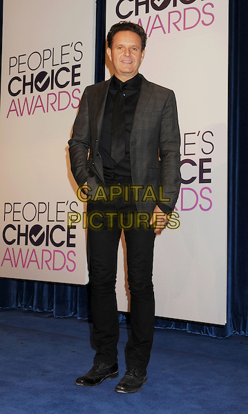 Mark Burnett.The People's Choice Awards 2013 Nomination Announcements at The Paley Center for Media in Beverly Hills, California, USA. .November 15th, 2012.full length grey gray suit jacket black trousers hand in pocket.CAP/ROT/TM.©Tony Michaels/Roth Stock/Capital Pictures