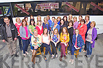 Getting ready for a hen night weekend was Siobhan Hickey(centre) from Scartaglin, pictured here with many family and friends last Saturday afternoon at Flemings Bar, Scartaglin.