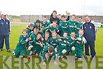 Kingdom Boys team who played Athletic in the under 13s Cup Final in Mounthawk Park, Tralee, on Saturday afternoon.