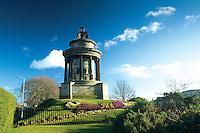The Robert Burns Monument, Edinburgh, Lothian