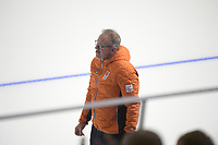 OLYMPIC GAMES: PYEONGCHANG: 21-02-2018, Gangneung Oval, Long Track, Team Pursuit, Team Netherlands, Geert Kuiper (coach), ©photo Martin de Jong