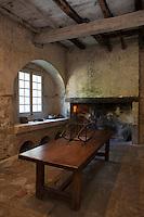 Europe/France/Midi-Pyrénées/32/Gers/Valence-sur-Baïse: Abbaye de Flaran - Dans l'ancienne cuisine