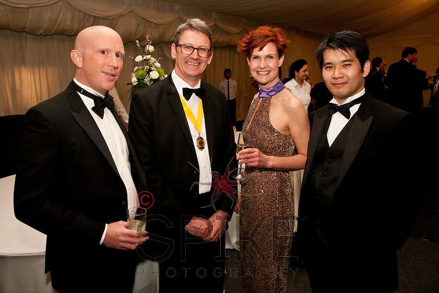 Browne Jacobsen staff from left are Tim Calremont, Alan Radford, Tracy Radford and Humu Choji