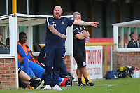 Romford manager Paul Martin during Romford vs Hastings United, FA Trophy Football at Ship Lane on 8th October 2017