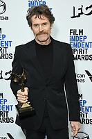 08 February 2020 - Santa Monica - Willem Dafoe. 2020 Film Independent Spirit Awards - Press Room held at Santa Monica Pier. Photo Credit: Birdie Thompson/AdMedia