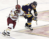 Stephen Gionta, Bryan Schmidt - Boston College defeated Merrimack College 3-0 with Tim Filangieri's first two collegiate goals on November 26, 2005 at Kelley Rink/Conte Forum in Chestnut Hill, MA.