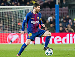 Lionel Andres Messi of FC Barcelona in action during the UEFA Champions League 2017-18 match between FC Barcelona and Sporting CP at Camp Nou on 05 December 2017 in Barcelona, Spain. Photo by Vicens Gimenez / Power Sport Images