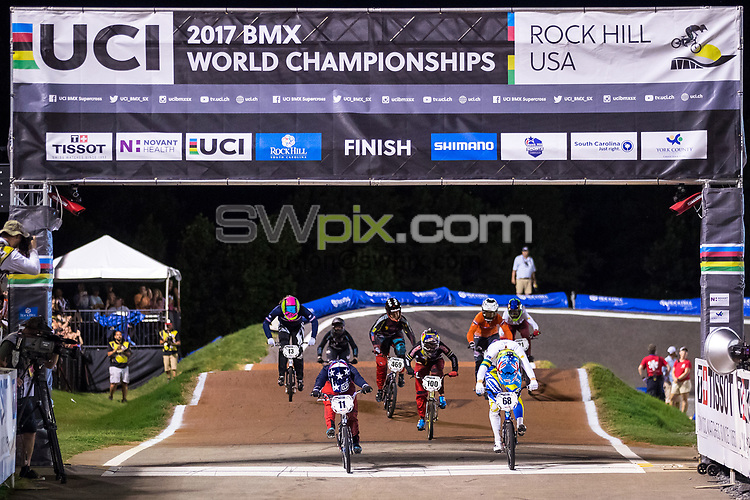 Picture by Alex Whitehead/SWpix.com - 29/07/2017 - Cycling - 2017 UCI BMX World Championships - Novant Health BMX Supercross Track, Rock Hill, USA - Brief. Branding.