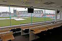View from the press box prior to  Nottinghamshire CCC vs Essex CCC, Specsavers County Championship Division 1 Cricket at Trent Bridge on 11th September 2018