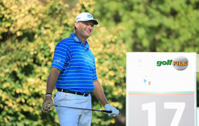 Ernie Els (RSA) in action during the completion of Round Two of the 2016 BMW SA Open hosted by City of Ekurhuleni, played at the Glendower Golf Club, Gauteng, Johannesburg, South Africa.  09/01/2016. Picture: Golffile | David Lloyd<br /> <br /> All photos usage must carry mandatory copyright credit (&copy; Golffile | David Lloyd)