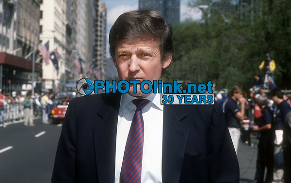 Donald Trump 1990<br /> Photo By John Barrett/PHOTOlink.net