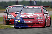 Round 4 of the 2002 British Touring Car Championship. #0 Matt Neal (GBR). Egg Sport. Vauxhall Astra Coupé.