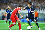 Genki Haraguchi (JPN),<br /> MARCH 29, 2016 - Football / Soccer :<br /> FIFA World Cup Russia 2018 Asian Qualifier Second Round Group E match between Japan 5-0 Syria at Saitama Stadium 2002 in Saitama, Japan. (Photo by Kenzaburo Matsuoka/AFLO)