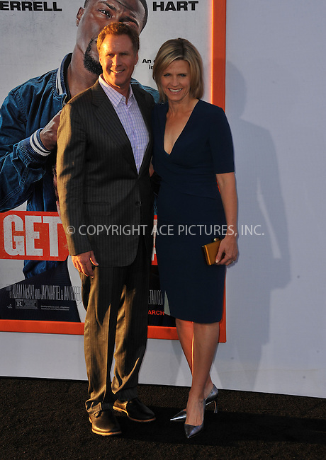 WWW.ACEPIXS.COM<br /> <br /> March 25 2015, LA<br /> <br /> Actor Will Ferrell and wife Vivica Paulin attending the premiere of 'Get Hard' at the TCL Chinese Theatre IMAX on March 25, 2015 in Hollywood, California.<br /> <br /> By Line: Peter West/ACE Pictures<br /> <br /> <br /> ACE Pictures, Inc.<br /> tel: 646 769 0430<br /> Email: info@acepixs.com<br /> www.acepixs.com