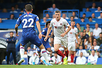 John Lundstram of Sheffield United in action during Chelsea vs Sheffield United, Premier League Football at Stamford Bridge on 31st August 2019