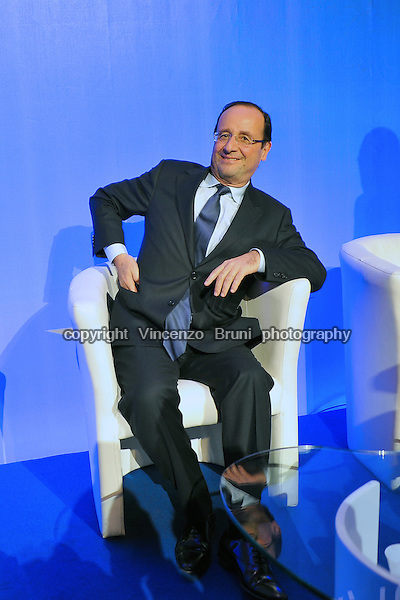 François Hollande, former First Secretary of the French Socialist Party, elected President of France in May 2012.