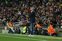 7th March 2020; Camp Nou, Barcelona, Catalonia, Spain; La Liga Football, Barcelona versus Real Sociedad;  Barcelona manager Quique Setien