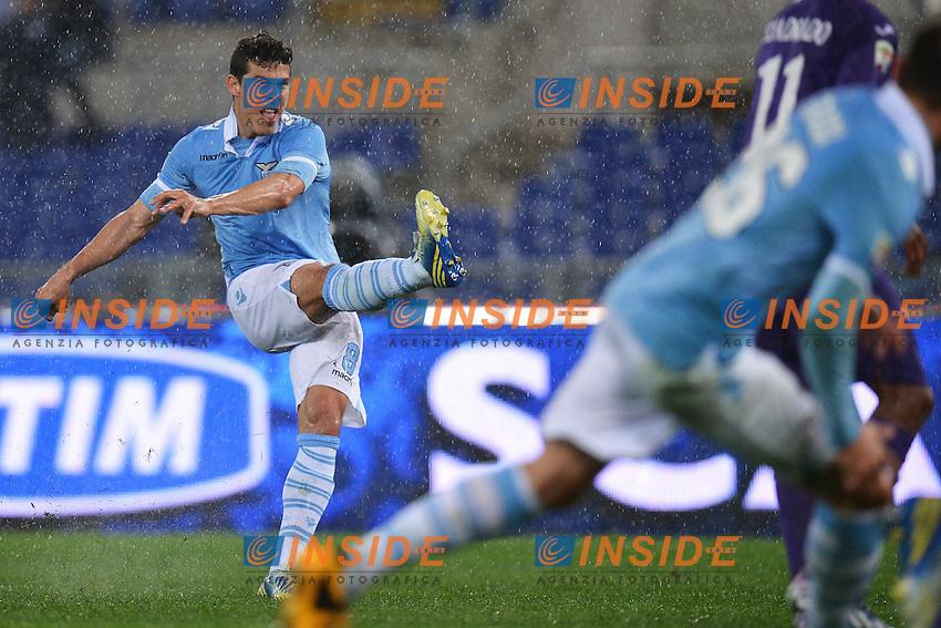 Hernanes Lazio .Roma 10/03/2013 Stadio Olimpico .Football Calcio 2012/2013 Serie A.Lazio Vs Fiorentina.Foto Andrea Staccioli Insidefoto