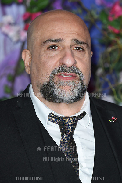 "LONDON, UK. November 01, 2018: Omid Djalili at the European premiere of ""The Nutcracker and the Four Realms"" at the Vue Westfield, White City, London.<br /> Picture: Steve Vas/Featureflash"