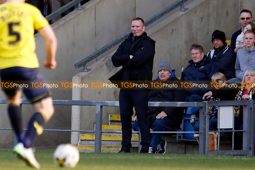 Oxford's manager Michael Appleton during Oxford United vs Leyton Orient, Sky Bet League 2 Football at the Kassam Stadium on 12th March 2016