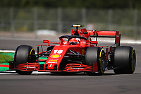 1st August 2020, Silverstone, Northampton, UK; FIA Formula One World Championship 2020, Grand Prix of Great Britain,  qualifying;  16 Charles Leclerc MCO, Scuderia Ferrari Mission Winnow