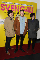 "The Dexters arrives for the ""SVENGALI"" premiere at the Rich Mix Cinema, Shoreditch,  London. 11/03/2014 Picture by: Steve Vas / Featureflash"