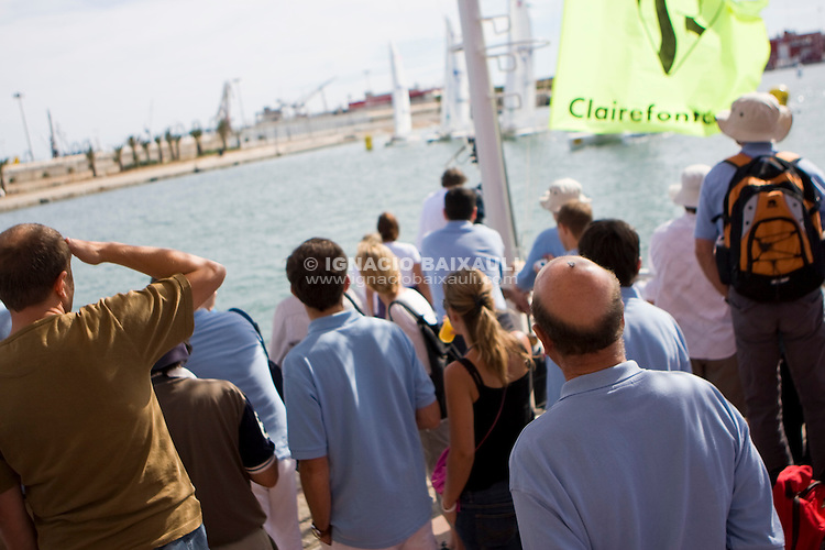 9th Trophée Clairefontaine, Saturday 13 and Sunday 14 September 2008, Marina Juan Carlos I, Valencia,Spain -