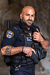 Middle East, Israel, Jerusalem , policeman