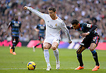 7	Cristiano Ronaldo (Real Madrid) vies with 24	Jeison Murillo (FC Granada) during the Spanish league football match Real Madrid vs FC Granada at the Santiago Bernabeu stadium in Madrid on January 25, 2014. PHOTOCALL3000/ DP