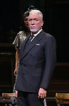 """Patrick Page during the Broadway Press Performance Preview of """"Hadestown""""  at the Walter Kerr Theatre on March 18, 2019 in New York City."""
