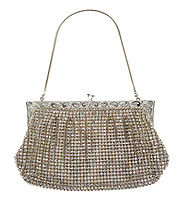 A crystal handbag that belonged to Princess Diana has sold for almost £10,000.