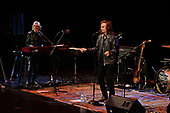 FORT LAUDERDALE FL - FEBRUARY 22: Rod Argent and Colin Blunstone of The Zombies perform at The Broward Center on February 22, 2019 in Fort Lauderdale, Florida. : Credit Larry Marano © 2019