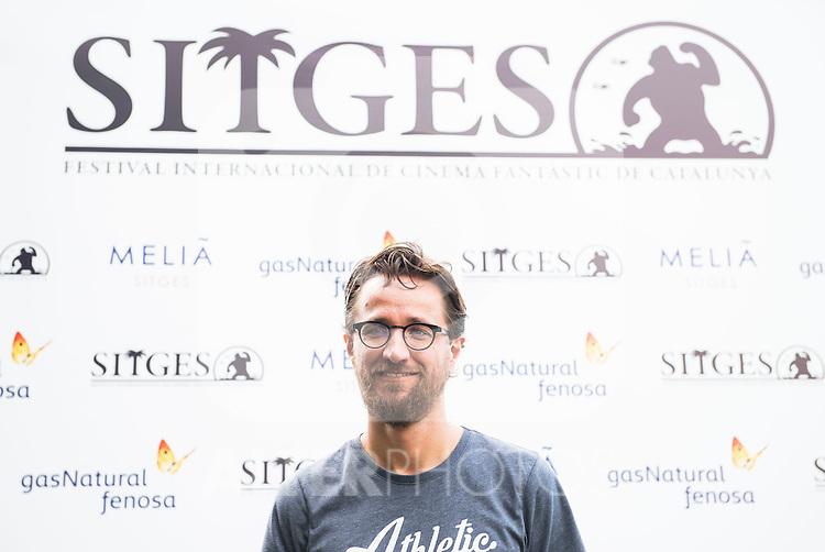 "NickJongerius during the photocall of the presentation of ""The Windmill Massacre"" at Festival de Cine Fantastico de Sitges in Barcelona. October 08, Spain. 2016. (ALTERPHOTOS/BorjaB.Hojas)"