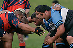 Counties Manukau RFU Division 2 rugby game between Weymouth White & Beachlands Maraetai played at Weymouth Domain on May 24th 2008. Weymouth won the game 77 - 3.