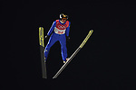Richard Freitag (GER). Mens normal hill individual. Qualification. Ski jumping. Alpensia ski jump centre. Pyeongchang2018 winter Olympics. Alpensia. Pyeongchang. Republic of Korea. 08/02/2018. ~ MANDATORY CREDIT Garry Bowden/SIPPA - NO UNAUTHORISED USE - +44 7837 394578