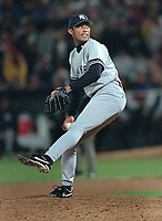 New York Yankee Mariano Rivera...(2000 photo/Ron Riesterer)