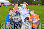 Danny, Nora, Candice, Simone and Lorcan Coffey Killorglin at the Teddy Bear picnic in Muckross House on Friday<br />