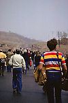 Tourists Near Great Wall