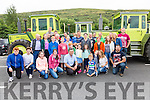 The MB Trac Gang Club Members from North Kerry led by Thomas Fitzmaurice who traveled to take part in the Sean O'Shea Memorial Vintage Tractor Run in aid of Motor Neurons Disease.