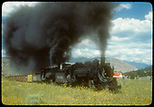 D&amp;RGW #497 K-37 and another engine hauling freight.<br /> D&amp;RGW  Durango, CO
