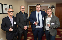 Pictred from left is Graham Miller of Double Impact, Simon Gray of Pembridge Gray, Lewis Quayle of Alea, and Mark Platt of Shakespeare Martineau