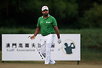 Anirban Lahiri of India in action during the Venetian Macao Open 2016 at the Macau Golf and Country Club on 16 October 2016 in Macau, China. Photo by Marcio Machado / Power Sport Images