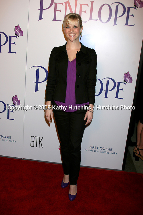"""Reese WItherspoon.""""Penelope"""" Premiere.DGA Theater.Los Angeles, CA.February 20, 2008.©2008 Kathy Hutchins / Hutchins Photo...."""