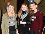 Ciara Johnson, Shauna Fogerty and Katie-Ann Holdcroft pictured at the 80's night in the Grove House Dunleer to raise funds for the Paul Lannon Fight For Life fund. Photo:Colin Bell/pressphotos.ie
