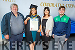Cliona Costello from Ardfert graduating in Mental Health Nursing from the I T Tralee on Friday. <br /> L to r: PJ, Helen, Cliona and Denis Costello from Ardfert.